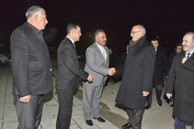 Başkan Yılmaz'ın Van Ziyareti