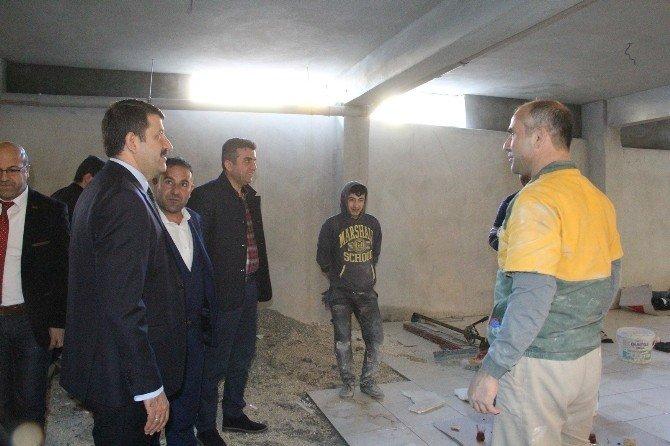 Eyyübiye Belediyesinden Topdağı Mahallesi'ne Gençlik Merkezi