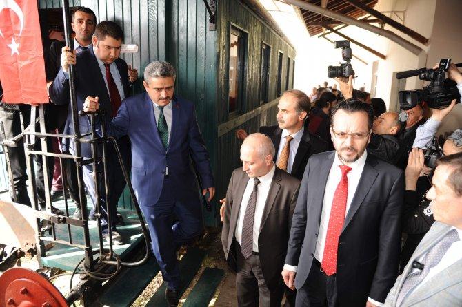 Nazilli'nin tarihî 'Gıdı Gıdı Treni' yeniden hizmete girdi