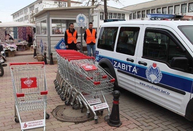 Seydişehir Belediyesi'nden Pazar Arabası Uygulaması