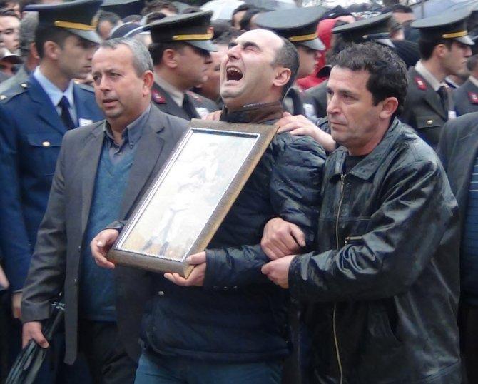 Simavlı şehit Jandarma Er Mustafa Nerkis defnedildi