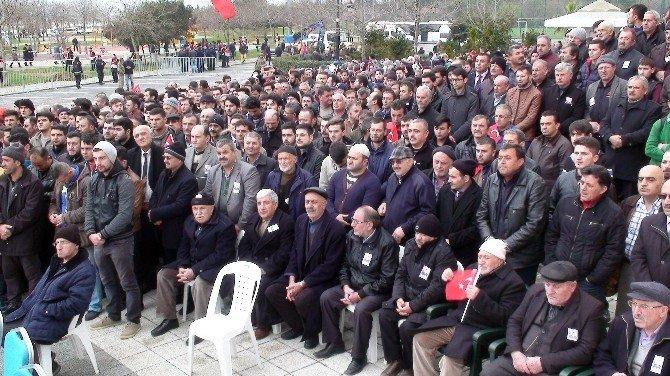 Şırnak'ta Şehit Düşen Uzman Çavuş Son Yolculuğuna Uğurlandı