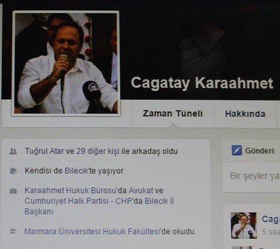 Eski İl Başkanı 15 Aydır Sosyal Medya Hesabında Görevini Değiştirmedi