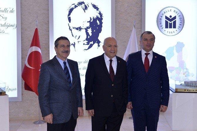 Başkan Ataç'ın Ankara Ziyaretleri