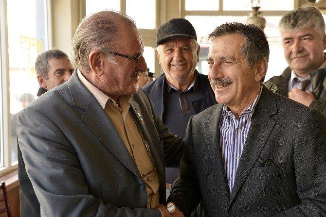 Başkan Ataç İnönü'de Ziyaretlerde Bulundu