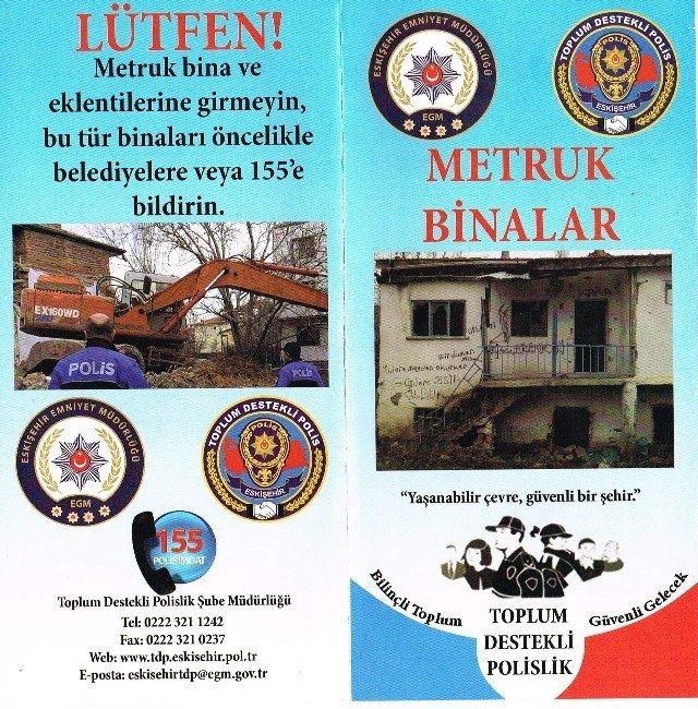 Eskişehir'deki Metruk Binalar TEK TEK Yıkılıyor