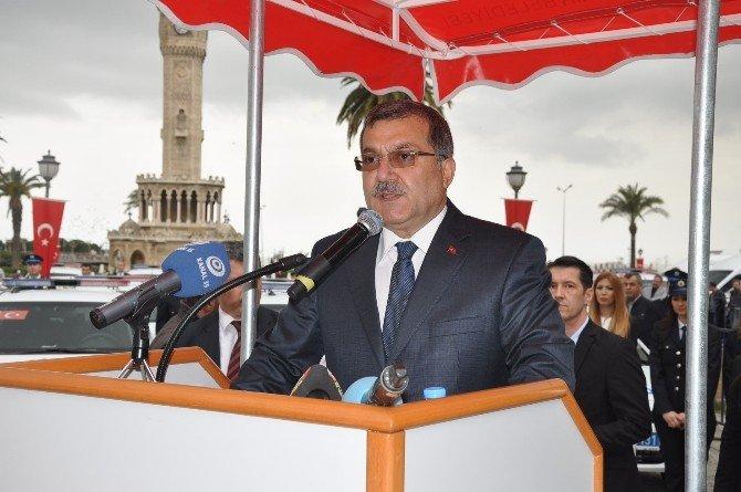 İzmir Emniyetinde 160 Yeni Araç Hizmete Girdi