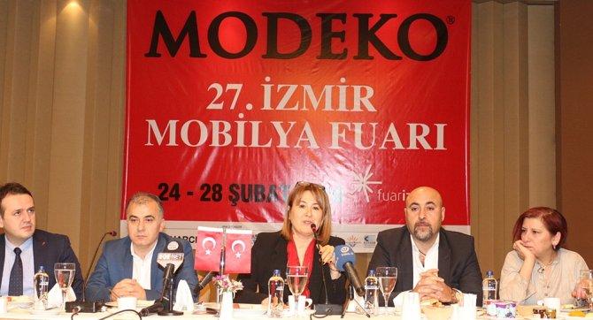 İzmir Mobilya Fuarı, 300 firmanın katılımıyla açılacak