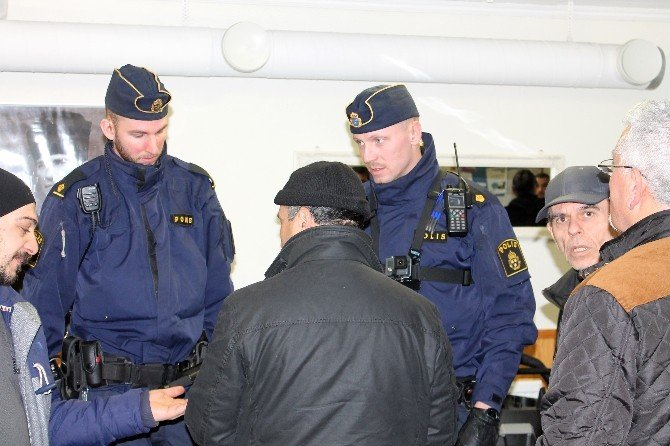 Stockholm Büyükelçisi Türkmen'den, Saldırıya Uğrayan Türk Derneğine Ziyaret