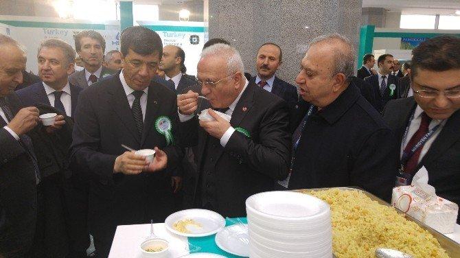 Türkmenistan Ekonomi Bakanından Türk Bulgur Ve Makarnasına Övgü