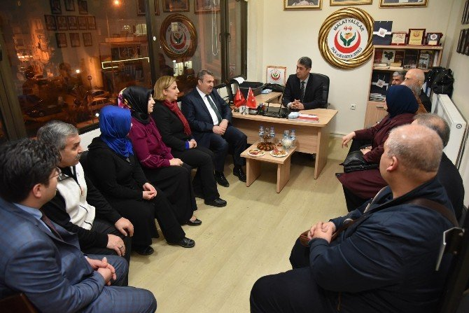 Malatyalılar Başkan Çerçi'yi Ağırladı