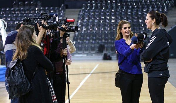 Kadın Basketbol Milliler, Romanya maçına hazır