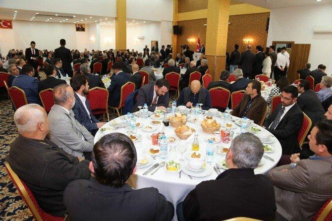 Adalet Bakanı Bekir Bozdağ, Yozgat'ta İş Adamları İle Bir Araya Geldi
