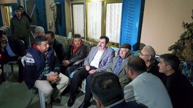 Milletvekili Erdem'den Arslan Ailesine Ziyaret