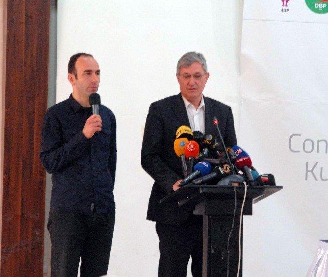 Demirtaş, Avrupalı Sol Partilerin Kürt Halkıyla Dayanışması Toplantısında Konuştu