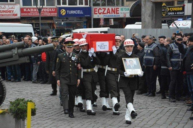 Ankara'daki Bombalı Saldırıda Şehit Olan Trabzonlu Mustafa Küçük'e Son Görev