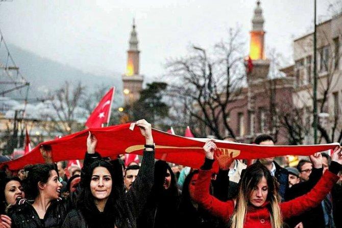 'Hepimiz Mehmediz' platformundan teröre tepki