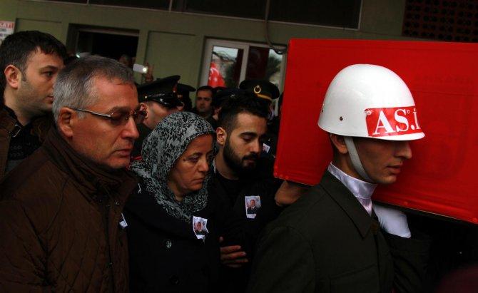 Şehit Koray Pınar, son yolculuğuna uğurlandı