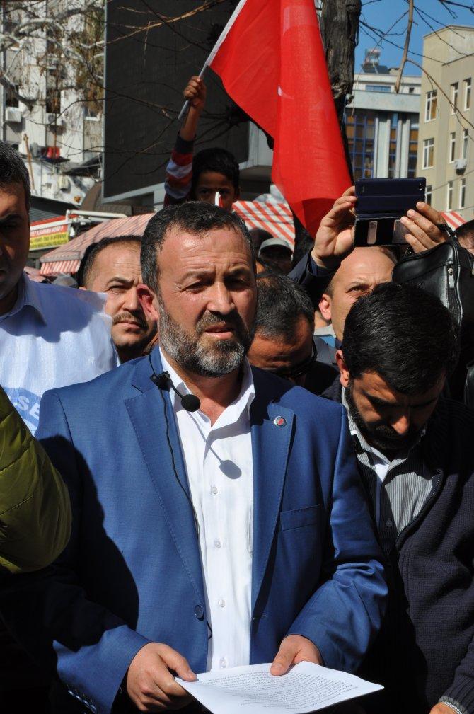 Antalya'da şehitler için gıyabi cenaze namazı kılındı