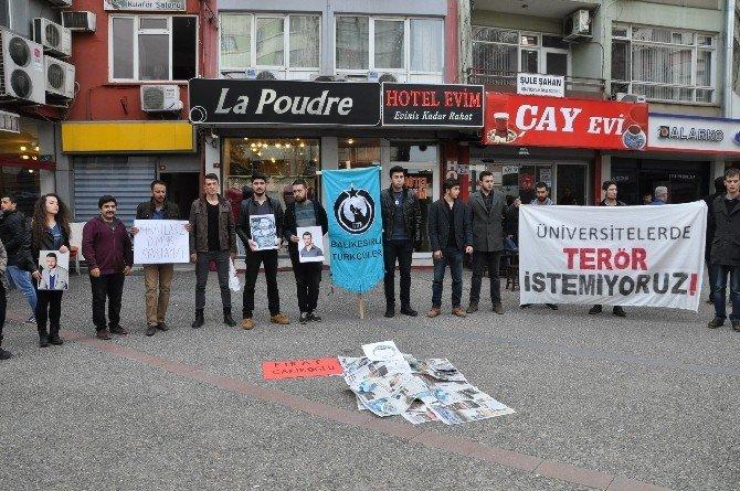 Balıkesir'li Türkçüler Fırat Yılmazı Andı