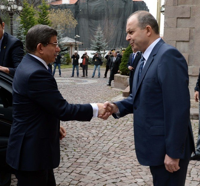 Başbakan Davutoğlu, Ankara'daki Terör Saldırısı Sonrası Valilikten Brifing Aldı
