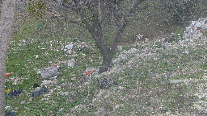 Bilecik'te Karaçay Yolu Çöplüğe Döndü