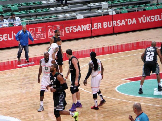 FIAT Türkiye Kupası: Banvit: 74 - Darüşşafaka Doğuş: 76