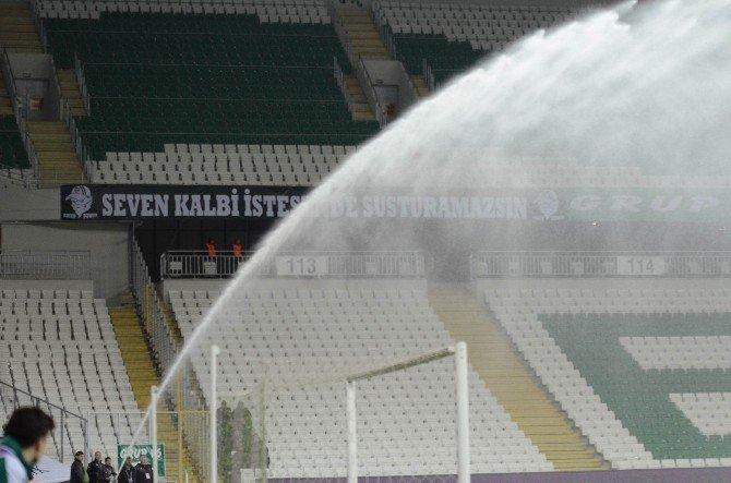Timsah Arena'da Sulama Krizi
