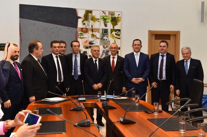 Başkan Kocaoğlu önderliğindeki ticari heyet Selanik'e gitti