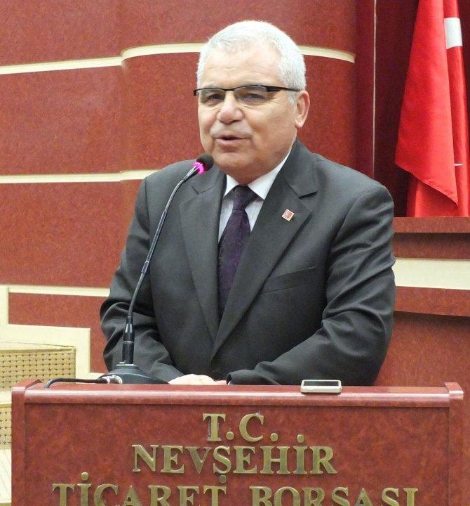 Nevşehir'de CHP çalışma ve değerlendirme toplantısı yapıldı