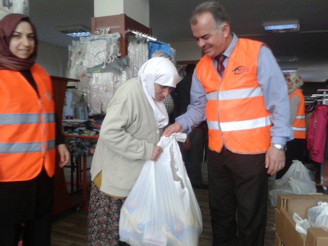Sur mağdurlarına yardım eli