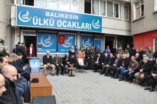 Fırat Yılmaz Çakıroğlu Balıkesir'de Anıldı