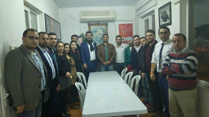 CHP'de Yeni Başkan Tilki, Teşekkür Ziyaretlerine Başladı