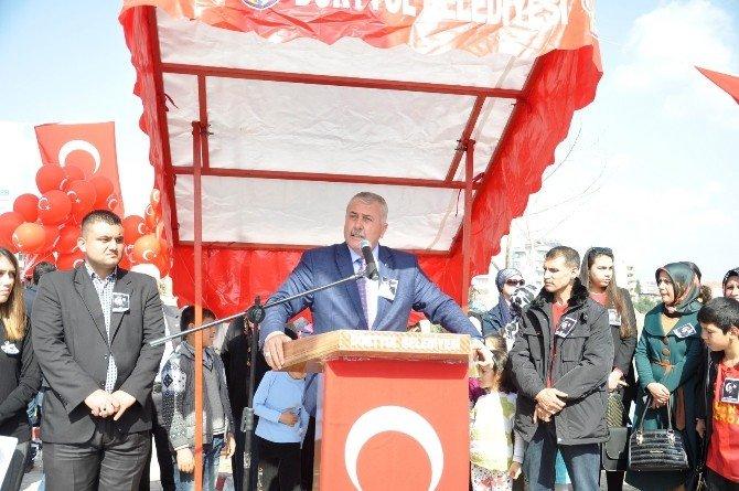Dörtyol'da Fırat Yılmaz Çakıroğlu Parkının Açılışı Yapıldı
