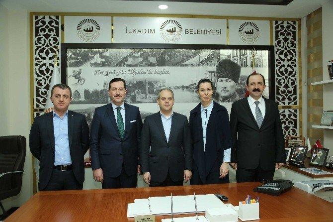 Bakan Kılıç'tan İlkadım Belediyesi'ne Ziyaret