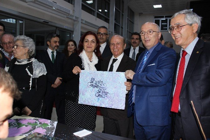 """Görele Güzel Sanatlar Fakültesi """"Logo Sergisi"""" Açıldı"""