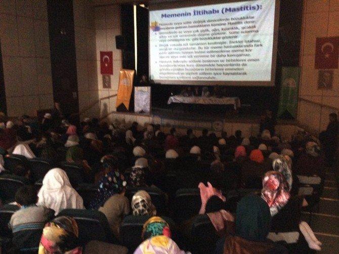 Hınıs'ta Kadın Çiftçilere Eğitim Programı