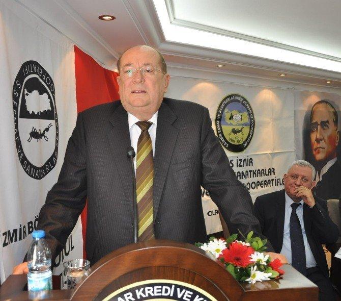 İzmir Esnaf Ve Sanatkarlar Kredi Ve Kefalet Kooperatifleri Birliği'nin, 45. Seçimli Olağan Genel Kurulu Yapıldı