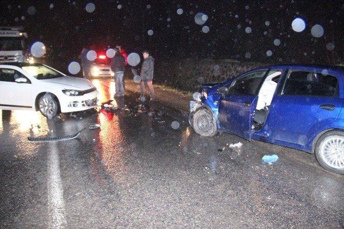 Kazayı Kendisin Yaptığını Söyleyen Sürücü Gerçeği Karakolda İtiraf Etti