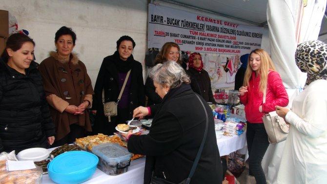 MHP'den Bayırbucak Türkmenlerine yardım kermesi