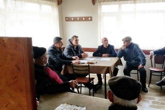 Düzce'de Köylülere ORKÖY Kredisi Anlatıldı