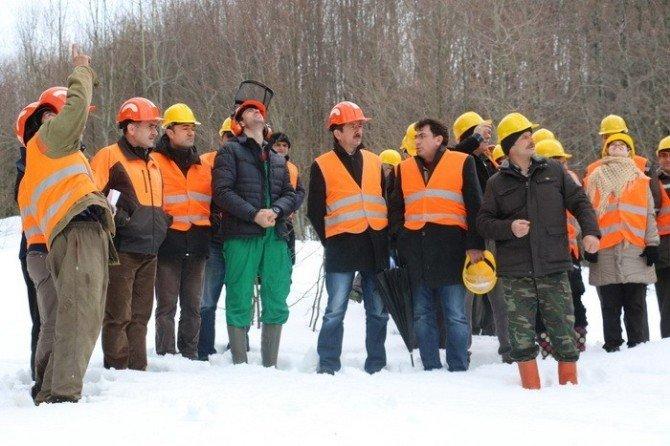Ormancılara Alanda Eğitim