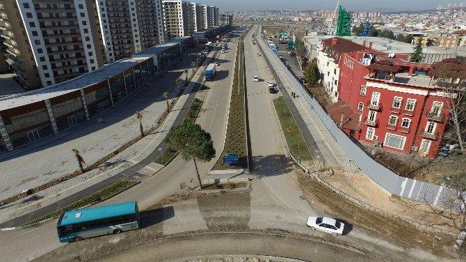 Osmangazi'den Trafiği Rahatlatacak Kavşak