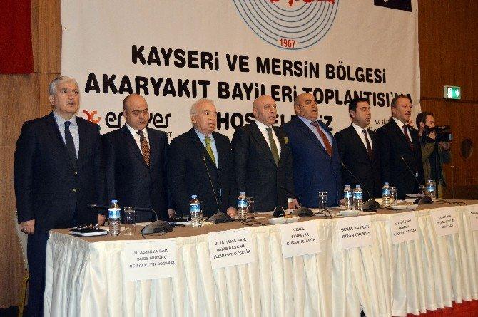 Püis Genel Başkanı Okumuş, Anadolu'daki Akaryakıt Bayilerine Sahip Çıktı