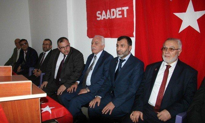 SP Genel Başkanı Kamalak, İl Kongresine Katıldı