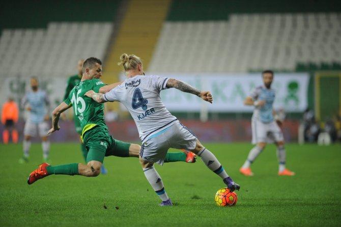 Bursaspor – Fenerbahçe maçında kazanan olmadı