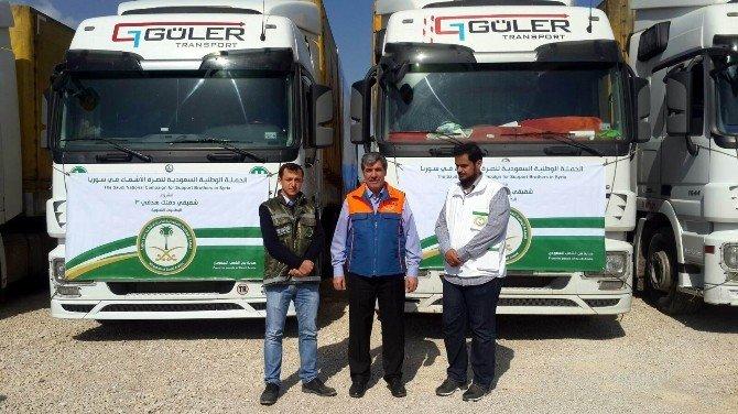 Suudi Arabistan'dan Suriyelilere Yardım