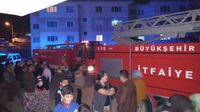 Taraklı'da Korkutan Yangın