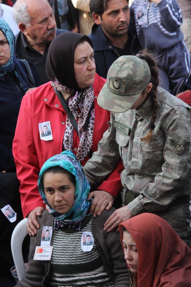 Şehit Uzman Çavuş Sercan Yılmaz, tekbirlerle ebediyete uğurlandı