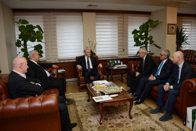 Trabzon Ticaret Borsası Heyeti'nden Bakan Soylu'ya Ziyaret